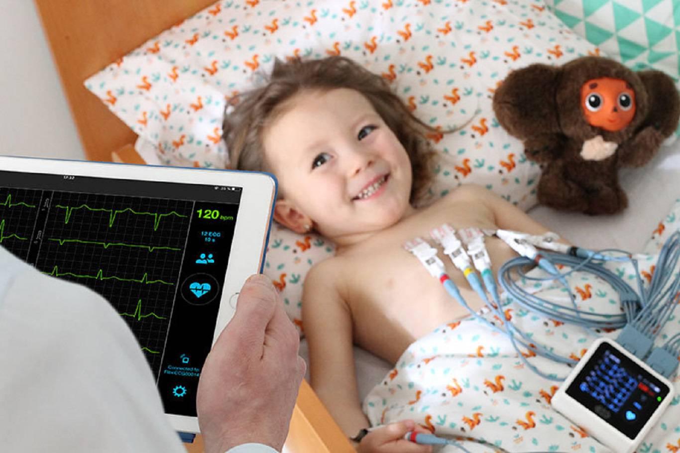 کار های لازم برای انجام نوار قلب کودکان