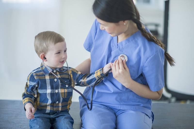 تشخیص تپش قلب در کودکان
