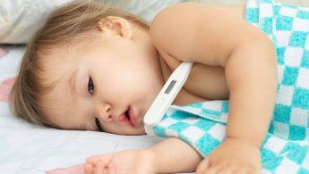 تپش قلب و تب در کودکان